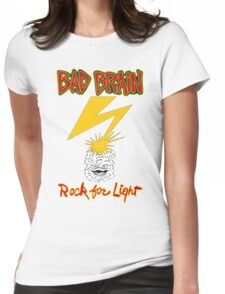 Bad Brains Rock For Light Womens Fitted T-Shirt