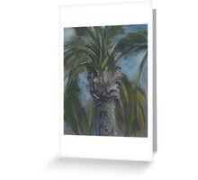 Blessed Shade-Palm Tree AC150603a Greeting Card