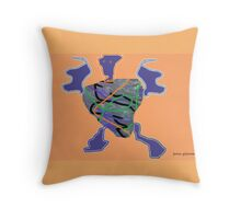 Liquididy Throw Pillow