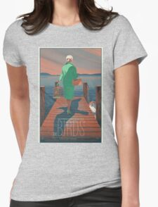 The Birds Hitchcock movie film Womens Fitted T-Shirt