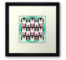 PenguinGame Framed Print