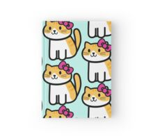 Hello Neko  Hardcover Journal