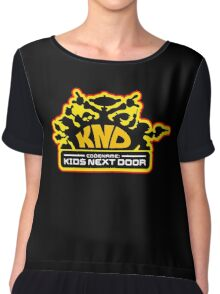Codename: Kids Next Door Chiffon Top