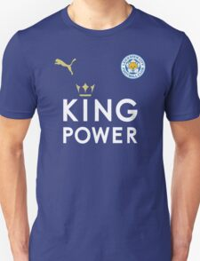 Leicester City Football Club - The Foxes - EURO 2016 UEFA Unisex T-Shirt