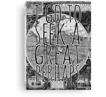John Green -- Great Perhaps 001 Canvas Print
