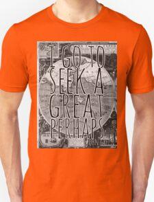 John Green -- Great Perhaps 001 Unisex T-Shirt