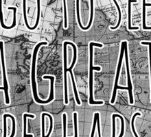 John Green -- Great Perhaps 002 Sticker