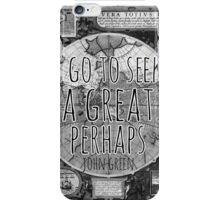 John Green -- Great Perhaps 002 iPhone Case/Skin