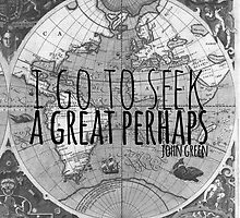 John Green -- Great Perhaps 003 by Alyssa  Clark