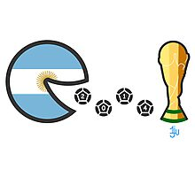 Argentina World Cup 2014 Photographic Print