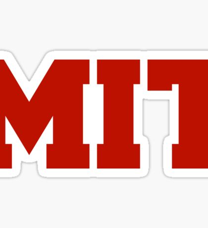 Massachusetts Institute of Technology Sticker