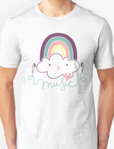 I Love Music Doodle T-Shirt