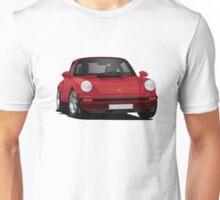 Porsche 911 illustration, red Unisex T-Shirt