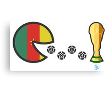 Cameroon World Cup 2014 Canvas Print