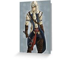 Assassins Creed- Connor Greeting Card