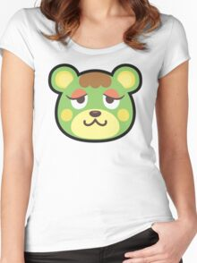 CHARLISE ANIMAL CROSSING Women's Fitted Scoop T-Shirt