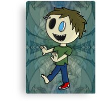Joe Zombie Canvas Print