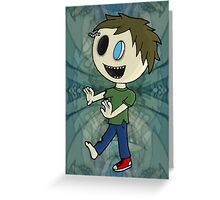 Joe Zombie Greeting Card