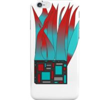 Flaming Square iPhone Case/Skin