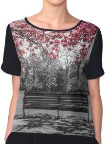 Cherry Blossom  Chiffon Top
