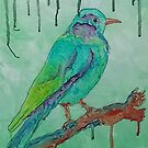 'Coloured Bird' by jansimpressions