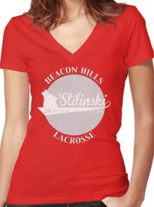 Stilinski's team tee Women's Fitted V-Neck T-Shirt