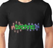 Techno Wave Unisex T-Shirt
