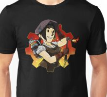 VAULT GIRL HARD AT WORK Unisex T-Shirt