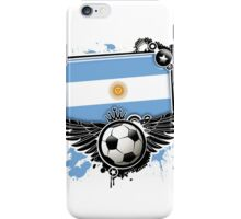 Soccer Fan Argentina iPhone Case/Skin