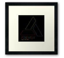°GEEK° Abtergo Neon Logo Framed Print