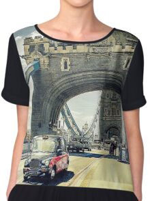 Tower Bridge, London Chiffon Top