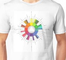 Color Compass Mandala Unisex T-Shirt