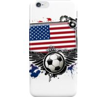 Soccer Fan United States iPhone Case/Skin