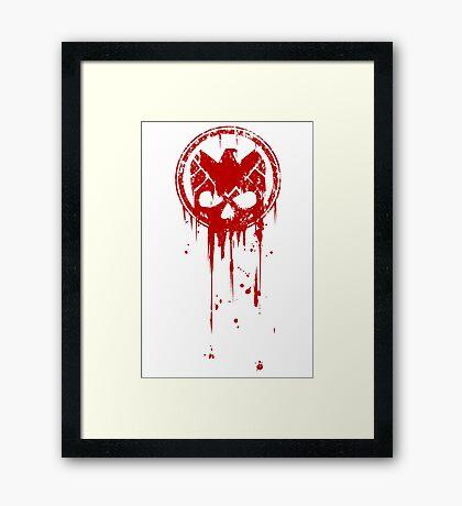 Compromised (RED) Framed Print