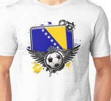 Soccer Fan Bosnia Unisex T-Shirt