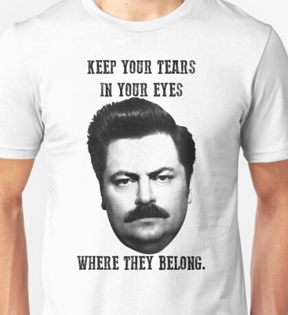 Ron Swanson quote Unisex T-Shirt