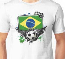 Soccer Fan Brazil Unisex T-Shirt