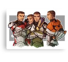 SW RC Delta Squad Canvas Print