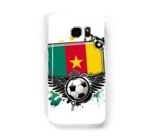 Soccer Fan Cameroon Samsung Galaxy Case/Skin