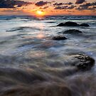Hug Point Tides Swirl by DawsonImages