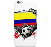 Soccer Fan Colombia iPhone Case/Skin