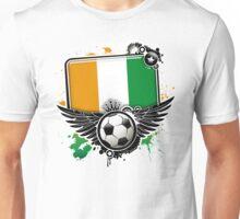 Soccer Fan  Côte d'Ivoire Unisex T-Shirt