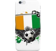 Soccer Fan  Côte d'Ivoire iPhone Case/Skin