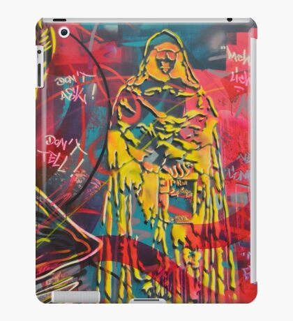 Graffiti monk street art iPad Case/Skin