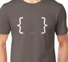 Brackets (No background) Unisex T-Shirt