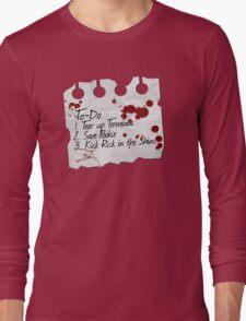 Carol's To Do List Long Sleeve T-Shirt