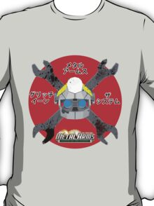 Metal Arms Glitch in The System Skull Head(Japanese Version) T-Shirt