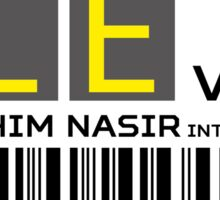 Destination Malé Airport Sticker