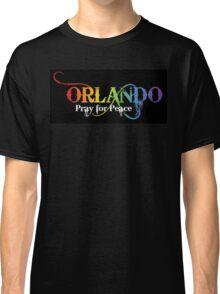 Orlando Pray for Peace Classic T-Shirt