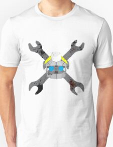 Metal Arms Glitch in The System Skull Head T-Shirt